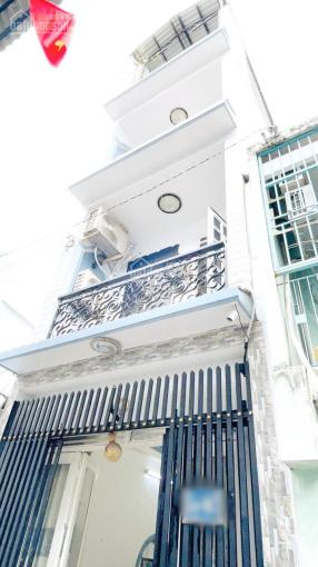Nhà 3 lầu ST hẻm 154 Âu Dương Lân, phường 3, quận 8 ảnh 0
