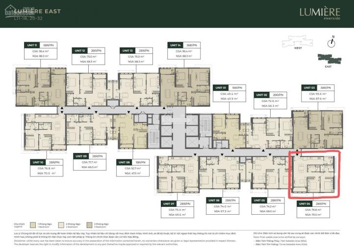 Hàng chủ đầu tư căn góc tầng cao (E-2x.04) giá 7.269 tỷ  - Lumiere Thảo Điền. Lh Khang: 0703475059 ảnh 0