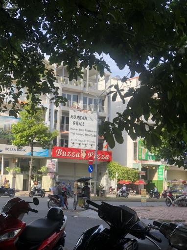 Cho thuê nhà MT Nguyễn Thị Thập khu Him Lam, P Tân Hưng, Q7. DT 10x20m 1 hầm 5 lầu. Giá 160tr/th TL ảnh 0