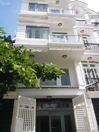 Bán nhà hẻm xe hơi đường Thăng Long, P4, Tân Bình. DT: 5m x 21m 1 trệt 3 lầu sân thượng kiên cố ảnh 0