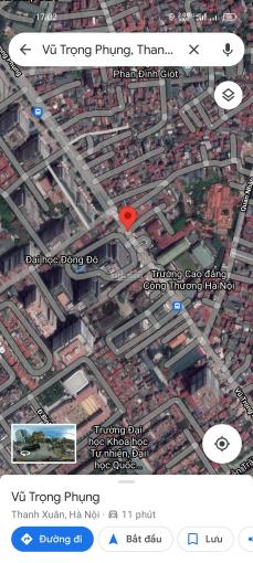 Nhà đất mặt phố Vũ Trọng Phụng sổ đỏ 124.7m2 mặt tiền 7.3m ảnh 0