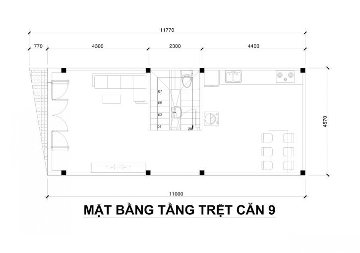Bán nhà mới 1 trệt, 1 lầu P5, cách Hoàng Việt 40m, đường 2,5m ảnh 0