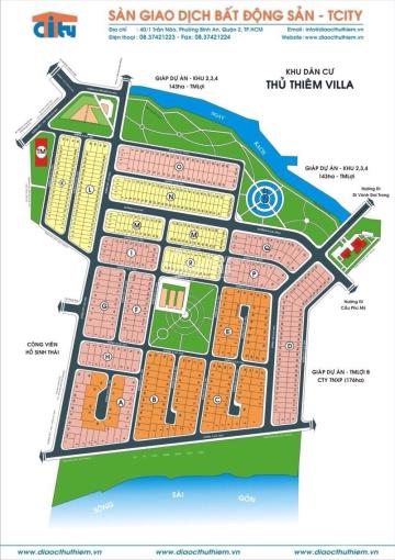Cần tiền trả nợ ngân hàng bán gấp đất dự án Villa Thủ Thiêm ảnh 0