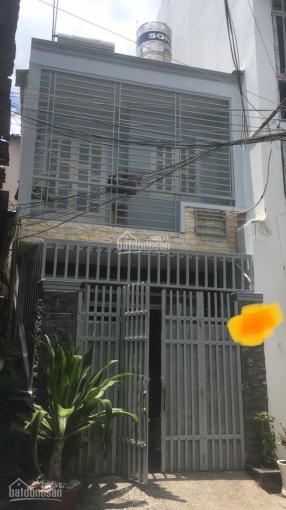 Cho thuê nhà phố 1 trệt 1 lầu 60m2, 2PN, 2WC hẻm oto ảnh 0