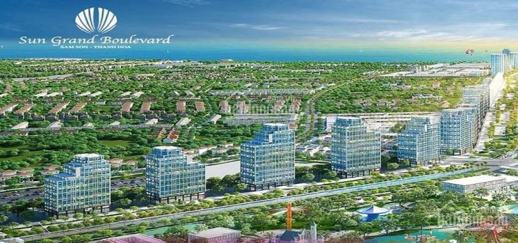 Mở bán Shophouse Sun Grand Boulevard Sầm Sơn - LH 0989890807 ảnh 0