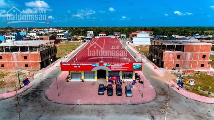 Đất mặt tiền kinh doanh siêu thị Thạnh Phú, 120m2, sổ hồng riêng, thổ cư 100% ảnh 0