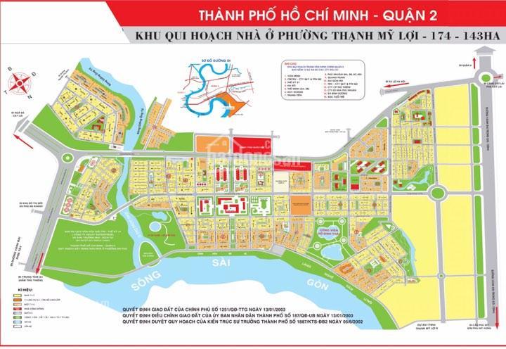 Chuyên bán đất nền ngay UBND Q2: HH 5x20m view CV 175tr/m2, 8x20m-145tr/m2 đường 20m giá 250tr/m2 ảnh 0