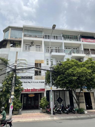 Bán gấp nhà căn góc MT đường 16m Bình Phú 1 - Quận 6 - 1T, 3L, 6PN, 7WC. LH: 0939282828 An ảnh 0