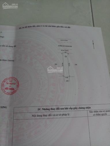 Bán lô đất chính chủ tại KDC Việt Sing ảnh 0