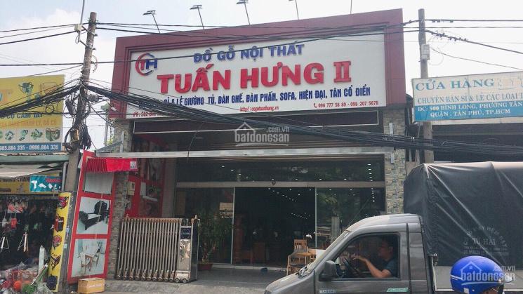 Bán nhà mặt tiền đường Bình Long, 8mx43m, nhà cấp 4, giá: 32 tỷ, P. Phú Thạnh, Q. Tân Phú ảnh 0