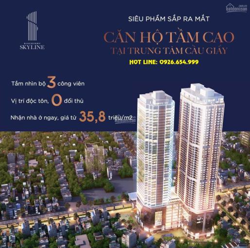 Chính sách T5.2021 - Giá chỉ 35,8tr/m2, CK ngay 800tr căn 210m2 tại Discovery Complex 302 Cầu Giấy ảnh 0