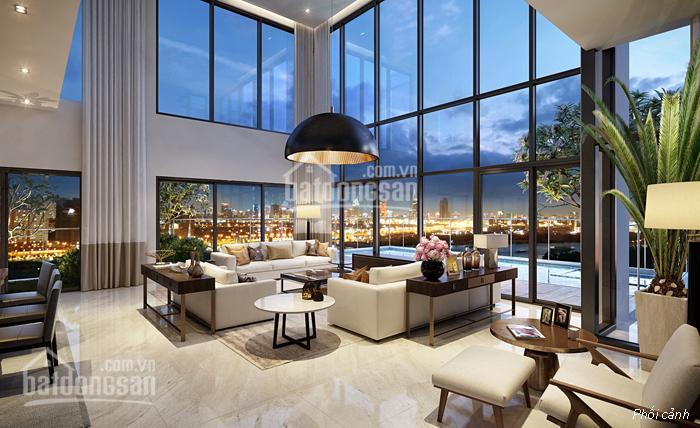 Bán Penthouse Thảo Điền Pearl, 443m2, 4PN, giá 40 tỷ, sân vườn và 4 mặt view sông & thành phố ảnh 0
