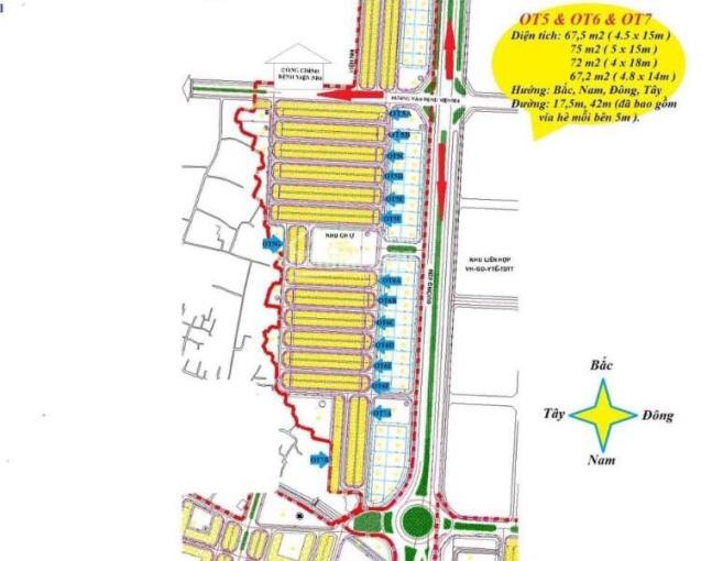 Chính chủ cần bán lô đất OT6A. 63 khu đô thị phía Nam (Viện Nhi), thành phố Hải Dương ảnh 0