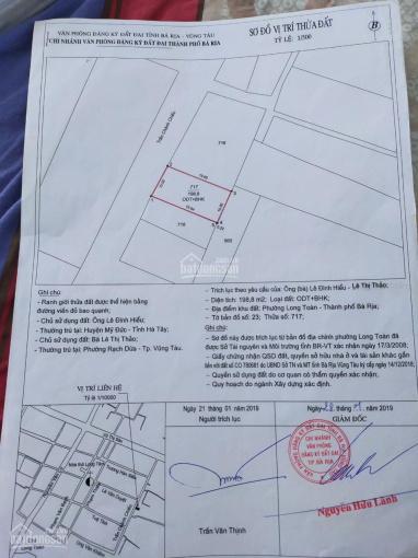 Bán đất biệt thự sân vườn phường Long Toàn, Tp Bà Rịa ảnh 0