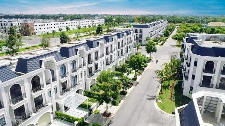 Bán nhà phố ven sông trung tâm khu hành chính TP Tân An, DT: 5x20m, góp 25 năm 0% lãi 0358614568 ảnh 0