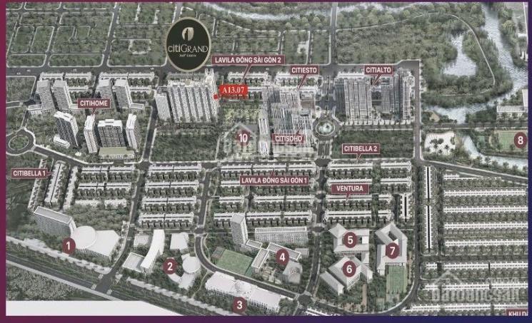 Bán căn hộ quận 2 rẻ nhất City Grand 2PN tầng 13 nhận nhà 2023. Chênh 50tr, dân cư hiện hữu ảnh 0