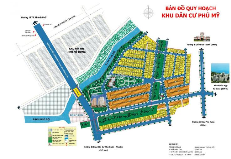 Còn duy nhất 1 lô đất La Casa, Q7, DT 7x20m, diện tích hiếm bán ra giá 110tr/m2, LH 0918278768 ảnh 0