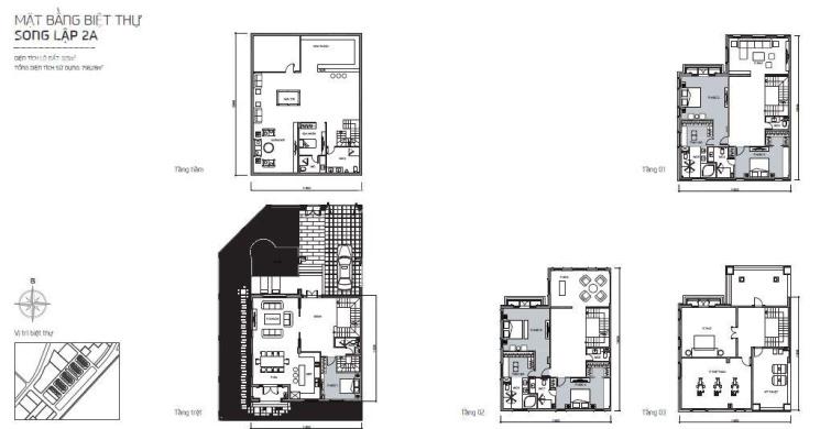 Cho thuê biệt thự cực đẹp, 325m2, full nội thất xịn, nhà mới 100%, giá tốt. LH: Thanh 0903799818 ảnh 0