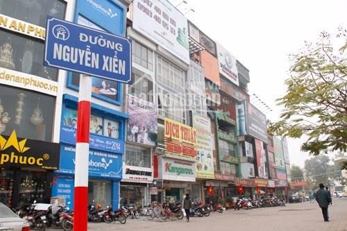 Mặt phố Nguyễn Xiển 180m2, mặt tiền 15.8m, lô góc 3 thoáng ảnh 0