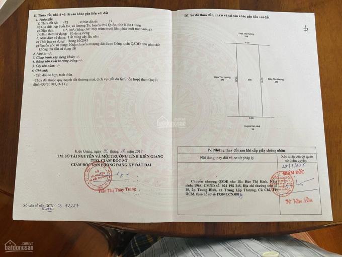 Bán đất nền dự án Thung Lũng Xanh, Phú Quốc chỉ còn 07 suất ngoại giao, giá chỉ từ 12tr/m2 ảnh 0