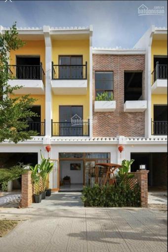 Bảng giá mới nhất, nhà phố 3 tầng khu Nam Hội An City, chiết khấu 7%, view sông ảnh 0