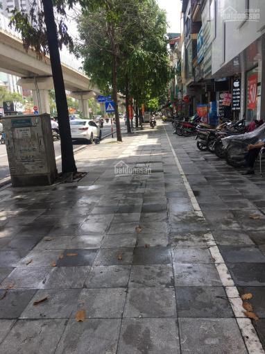 Cho thuê nhà mặt phố Quang Trung, Hà Đông, dt 600m2 x 5t, 1 hầm, thông sàn, ĐH, thang máy nhà mới ảnh 0