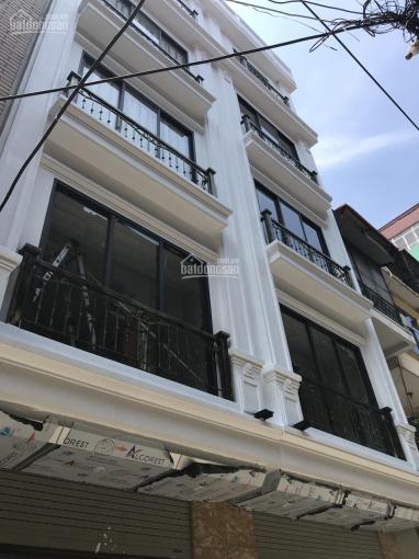 Bán nhà chia lô xây mới phố Minh Khai, Hai Bà Trưng thông Hòa Bình 7, 35m2, 5T, 3,45 tỷ ngõ thẳng ảnh 0