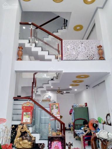Nhà mới hẻm xe hơi Tô Hiệu, Tân Phú, 4x12,3m vuông vức (40,8m2). 1 trệt, 1 lửng, 2 lầu, sân thượng ảnh 0