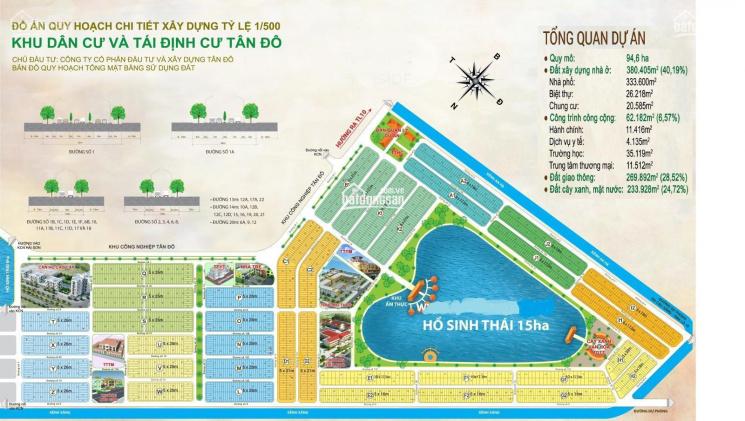 Bán nhanh 2 lô KDC Tân Đô diện tích: 5m x 21m (105m2), giá 1tỷ600triệu tại Trần Văn Giàu ảnh 0