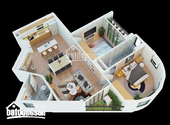 Bán căn hộ Vina2 Panorama Quy Nhơn 2PN, 91m2, 1tỷ5 - 0965.268.349 ảnh 0