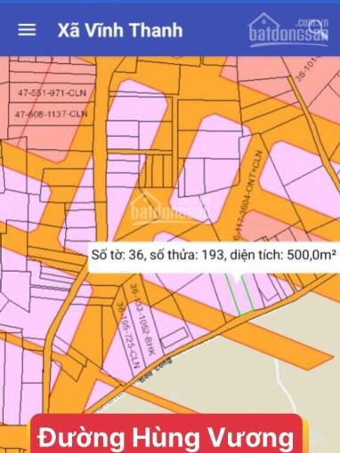 Bán lô đất đẹp vị trí 1 xẹt Hùng Vương, xã Vĩnh Thanh, Nhơn Trạch, Đồng Nai. Dt 9,75x59m. ảnh 0