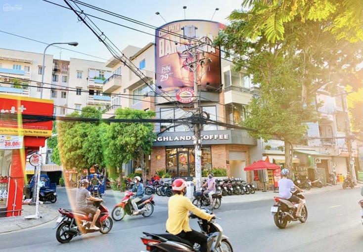 Bán nhà góc 2 mặt tiền đường 55 Vườn Lài ( 8m x 20m) 1 hầm 3 lầu - Vị trí đẹp sầm uất - chính chủ ảnh 0