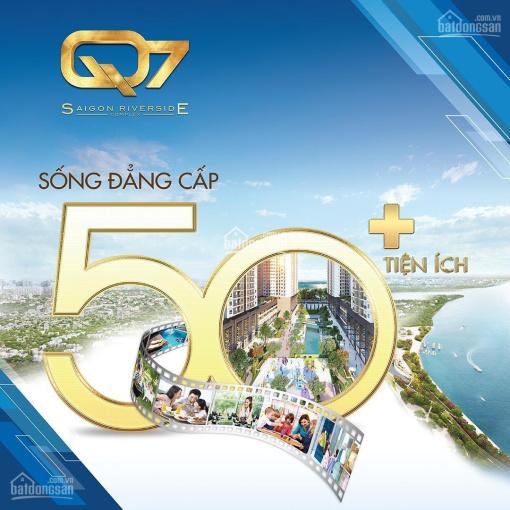 Bán DA Q7 Saigon Riverside giá rẻ nhất thị trường giá 1tỷ9/1PN -2tỷ350/2PN (Bao hết mọi chi phí) ảnh 0