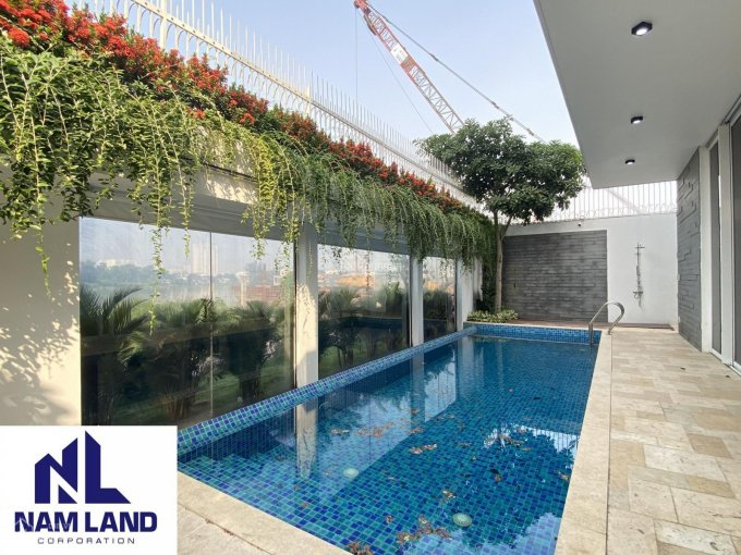 Cho thuê nhà biệt thự có hồ bơi 400m2 Đường Thân Văn Nhiếp, Phường An Phú ảnh 0