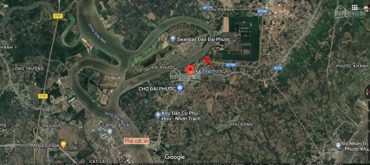 Chính chủ cần bán 4500m2 view sông, MT Lý Thái Tổ, Đại Phước, Nhơn Trạch, cách phà Cát Lái 3km ảnh 0