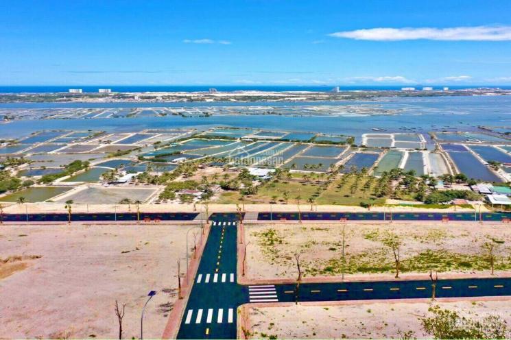 Bán đất mặt Đầm Thủy Triều - đối diện đảo nhân tạo của Vingroup đầu tư, sổ đỏ full thổ cư ảnh 0