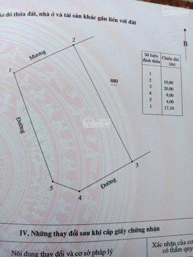 Chính chủ cần tiền bán đất 215m2 trúng đấu giá Trại Khóng, Minh Quang, Tam Đảo. LH 0983328668 ảnh 0