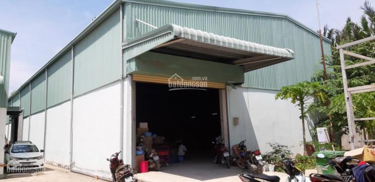 Thuê kho xưởng Quận 7 DT 450m2 kho đẹp kiên cố tường xây, wc, điện, nước đủ làm nhà kho, nhà xưởng ảnh 0