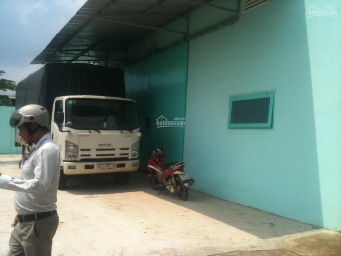 Cho thuê nhà xưởng Hà Huy Giáp, P. Thạnh Xuân, Quận 12, DT: 550m2 giá 30tr/tháng. LH: 0937.388.709 ảnh 0