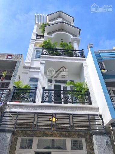 Bán gấp nhà 4 lầu hẻm 5m đường Nguyễn Đình Khơi, P. 4, Quận Tân Bình chỉ 7,8 tỷ TL ảnh 0