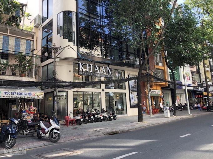 Định cư bán gấp nhà góc 2 MT Trần Quang Khải Q. 1, 4.4x17m, không lộ giới, trệt lầu ST. HĐ Thuê cao ảnh 0