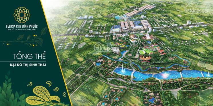 Chỉ 350tr sở hữu ngay nền đất khu đô thị lớn nhất Bình Phước Felicia City. Liên hệ 0945340777 ảnh 0