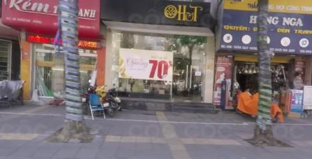 Cho thuê nhà MP Trần Duy Hưng, DT 80m2 * 4 tầng, MT 6,2m, giá 80tr/tháng ảnh 0