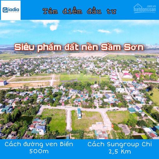 Đất mặt bằng phường Quảng Châu - Sầm Sơn (vị trí siêu hot) ảnh 0