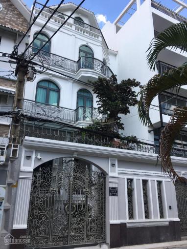 Chỉ 100tr/m2. Bán biệt thự cực đẹp mặt tiền tại P12 Tân Bình, DT 7x23m*3 lầu (DTCN 156m2) ảnh 0