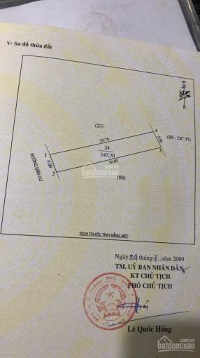 Bán đất chính chủ 147.7m2 phường Đông Vĩnh, Tp Vinh ảnh 0