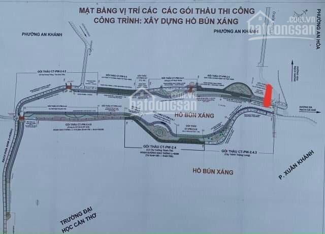 Bán đất mặt tiền Bờ Hồ Bún Xáng 546m2 - Ninh Kiều - Cần Thơ ảnh 0