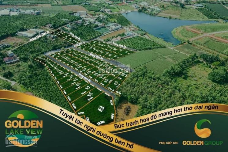 Cần bán 68 sản phẩm F0 Golden Lake View, đối diện hồ sinh thái, ngay TT TP Bảo Lộc, chỉ 490tr/100m2 ảnh 0