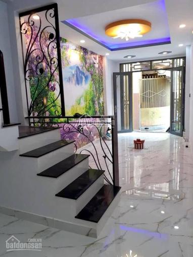 Bán gấp nhà hẻm 1/ Nguyễn Tri Phương, 4 tầng BTCT, đường trước nhà 5m ảnh 0