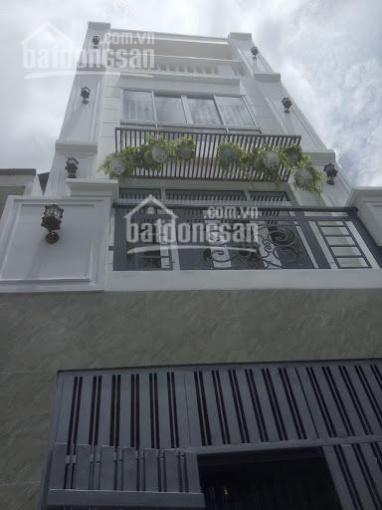 Bán nhà hẻm nhựa 8m thông đường Tân Sơn P12, DT: 5x16m. Nhà 3 lầu giá chỉ: 7.7 tỷ ảnh 0
